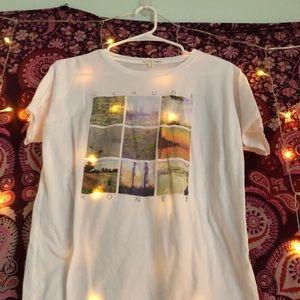 Claude Monet tshirt